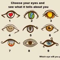 Τεστ: Διάλεξε ποιο μάτι προτιμάς και γνώρισε των εαυτό σου...
