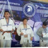 Πέντε μετάλλια ο «Ηρακλής» Ερμιονίδας Τζούντο σε Διεθνές Τουρνουά (pics)